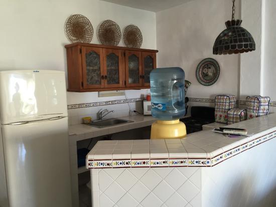 Casa Anita y Corona del Mar: Kitchen Area