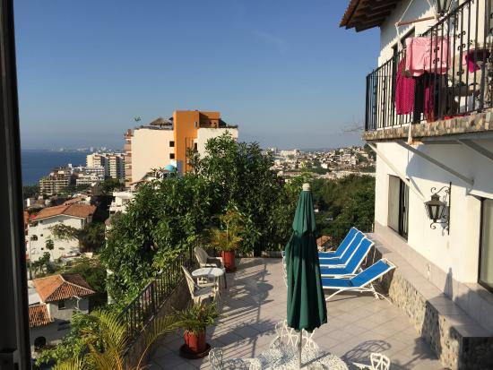 Casa Anita y Corona del Mar: View from Balcony