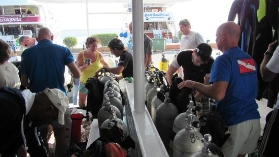 Aquanaut Diving Club : Aquanaut Blue Heave Dive Center