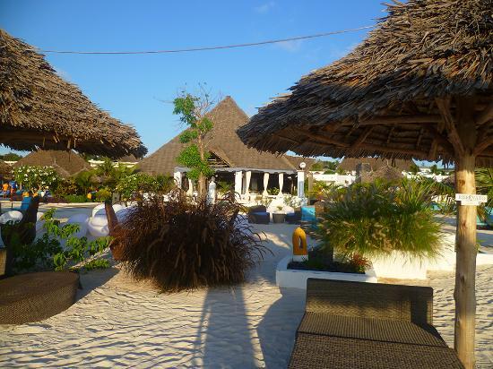 Essence Restaurant: la struttura  sulla spiaggia