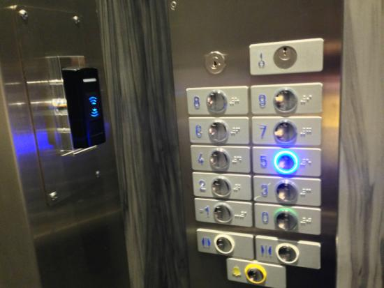 De Keyser Hotel: エレベーター