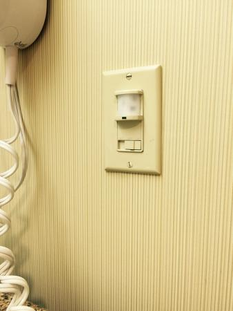 Hampton Inn & Suites New Haven - South - West Haven : Bathroom auto light doesn't last long when you walk in.