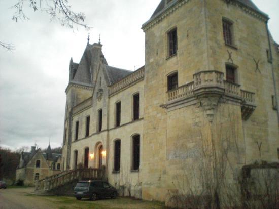 Chateau de Ternay: une partie de la façade