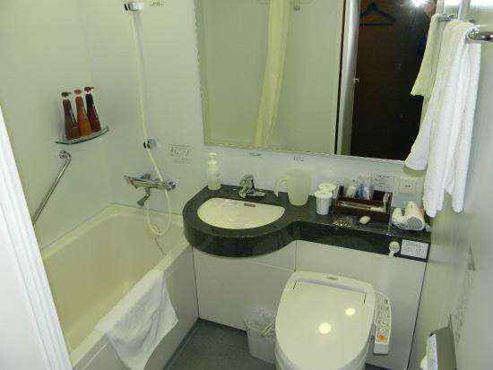 Daiwa Roynet Hotel Shinyokohama : バスルーム