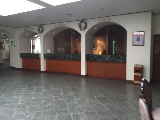 Sabah Hotel Sandakan : The reception
