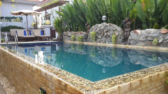 The Seda Villa: Swimming pool view