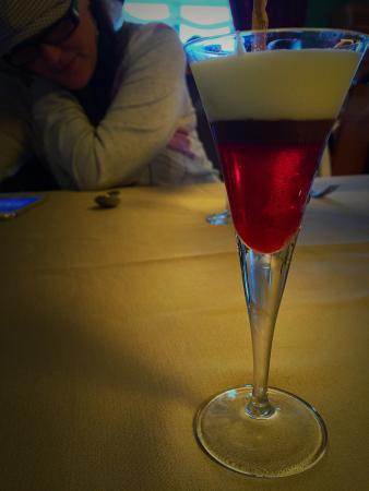 Palacio Castillo de gorraiz: Brutal la emulsión de frutos rojos con aloevera!