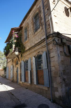 Barkai Studios: la ruelle Hulda Ha-Neviah et la maison de Ruth