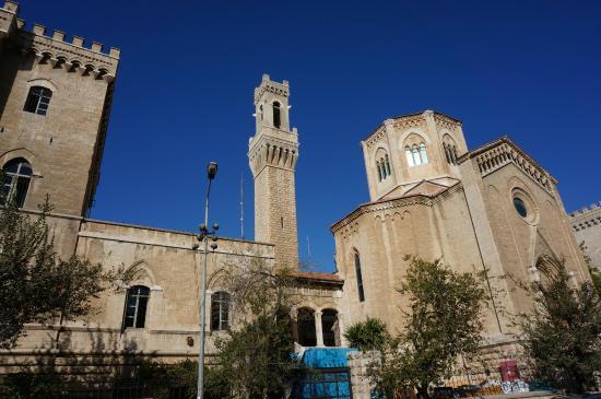 Barkai Studios: L'ancien Hôpital Italien à 300m de la maison