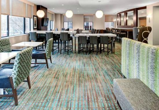 Residence Inn Atlanta Midtown/Peachtree at 17th: Lounge/Breakfast area