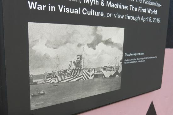 The Wolfsonian - Florida International University: Dazzle technique on navy ships