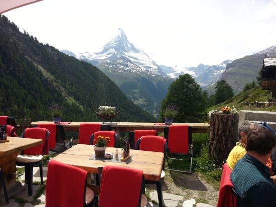 Restaurant Enzian : tolle aussicht