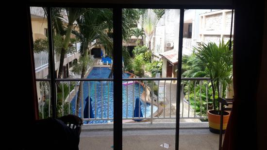 Baan Boa Resort : Вид из 213 номера