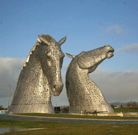 Falkirk, UK: Kelpies