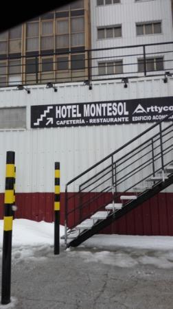 Hotel Montesol Arttyco : entrada