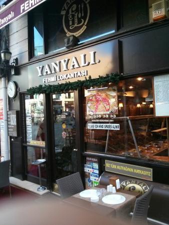 YanyalI Fehmi LokantasI : Devanture
