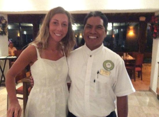 Meliá Cozumel Golf - All Inclusive: antonio hernandez . service impecable