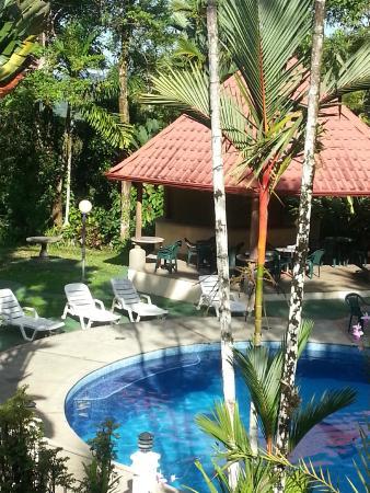 Hotel Natuga Villas y Reserva Natural: vue depuis la salle à manger