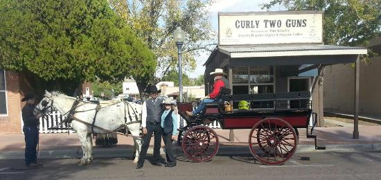 Lazy D Rockin P Ranch Carriage Rides: Wagonette & team