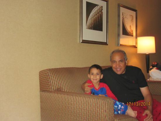 Omni Chicago Hotel: con mi nieto