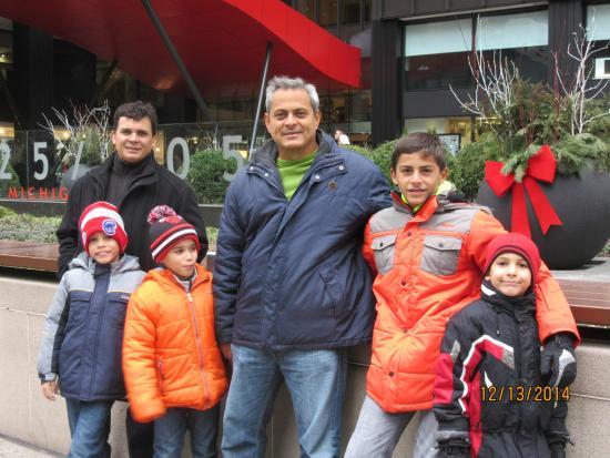 Omni Chicago Hotel: el grupo que nos hospedamos