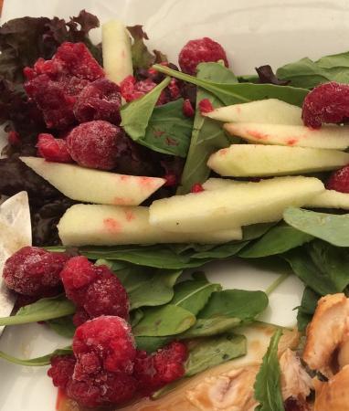 Aqui Jaime Restaurante: Frambuesas congeladas en el plato