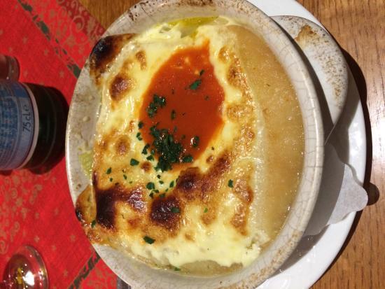 La Baita: Onion soup