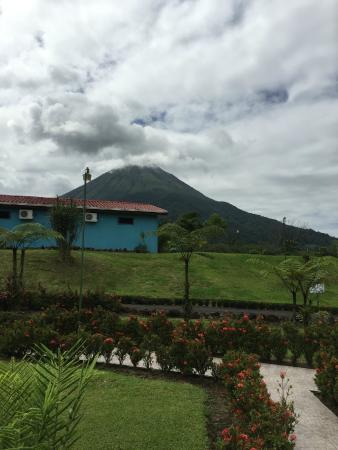 Hotel La Pradera: View of Volcano Arenal
