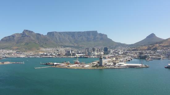 African Dreams : Capetown aus der Luft