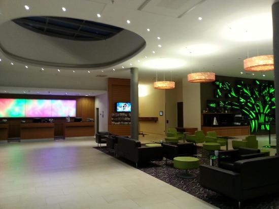 Courtyard Vienna Prater/Messe: Hotel lobby