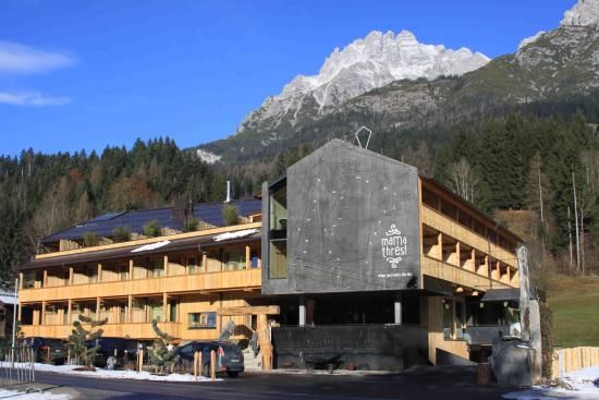 Hotel gesamt picture of mama thresl leogang tripadvisor for Leogang design hotel