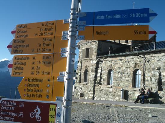 Todas as direções - Picture of Gornergrat, Zermatt - TripAdvisor