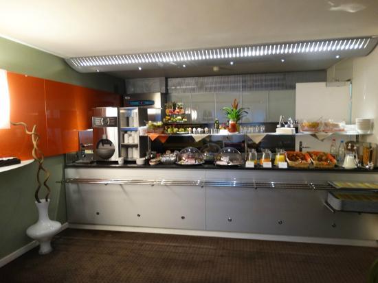 Design Hotel F6: Café da manhã