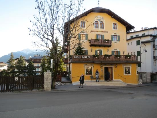 Ambra Hotel: Fachada principal