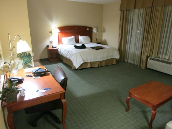 "Hampton Inn & Suites Los Angeles/Sherman Oaks: Quarto ""VIP"", com acessibilidade"