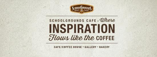 SchoolGrounds Cafe: Stay Inspired.