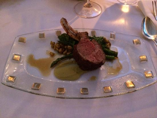 Old Inn On The Green: Tasting menu - lamb