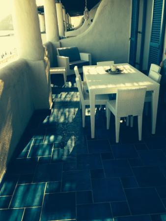 Residence NerOssidiana: Ampio balcone fronte mare