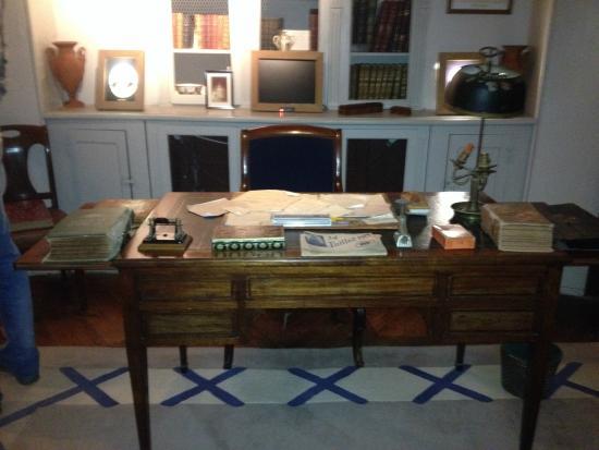 Le bureau de maurice leblanc bild von le clos arsène lupin