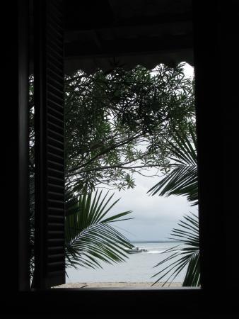 Pousada Pouso da Mare : vista da janela do quarto