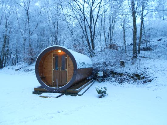By The Way Hostel and Campsite: Hobbit House