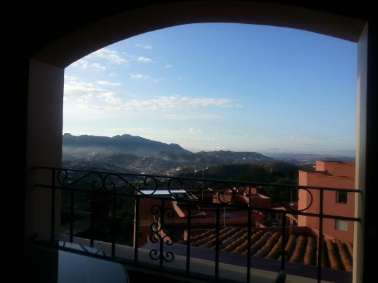 Casa Estrella de la Valenciana: view from balcony