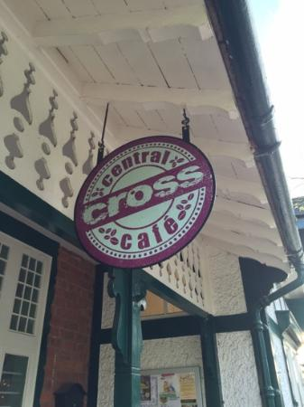 Central Cross Cafe: Signage