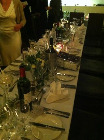 The Fig Tree : table plans