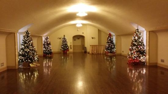 The Felt Estate: The ballroom on the third floor