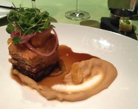 Angle: Crispy Berkshore Pork Belly