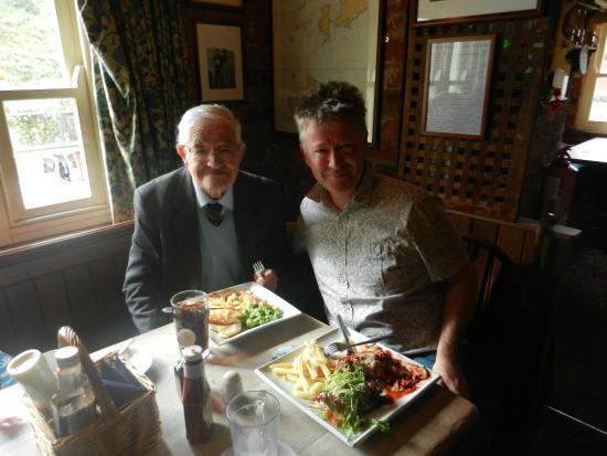 The Sloop Inn: Mal and Rhys - Sloop Inn