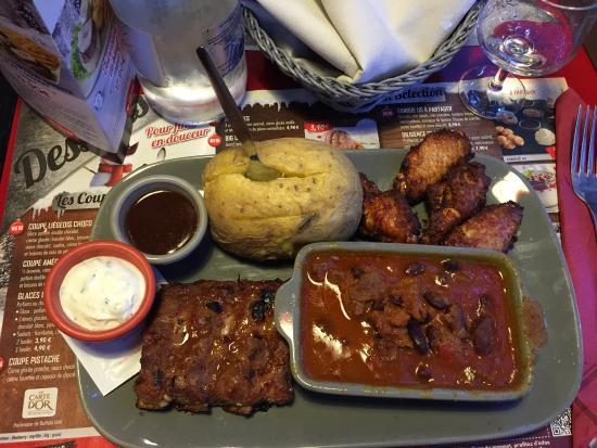 Mix tapas per due photo de buffalo grill paris - Buffalo grill accepte les cheques vacances ...