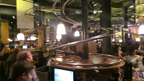Rollercoaster Restaurant Hamburg: Vores mad karrusel
