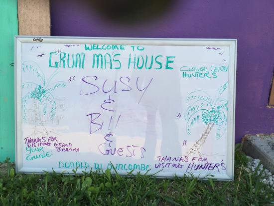Grum Ma's House Cultural Center: A warm, personal welcome!
